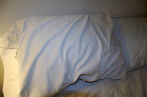 """""""Fico deitado até às 11 horas para compensar as horas de sono perdidas"""""""