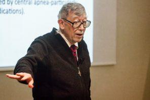"""Pai do """"síndrome da apneia obstrutiva do sono"""" fez conferência em Lisboa"""
