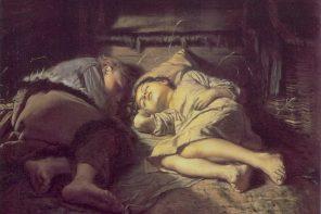 Crianças a dormir