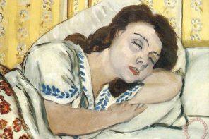 Marguerite a dormir
