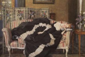 Mulher a dormir