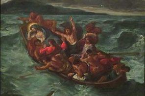 Jesus Cristo dormindo durante a tempestade