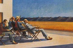 Gente ao sol